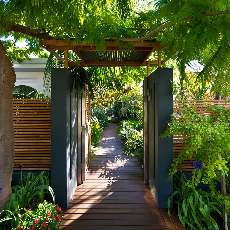 Perth garden designed by landscape designer Janine Mendel
