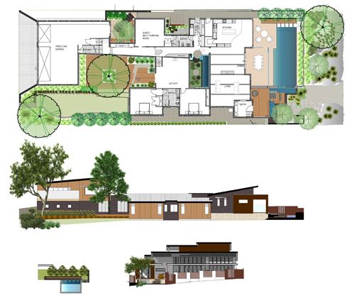 perth landscape design plan