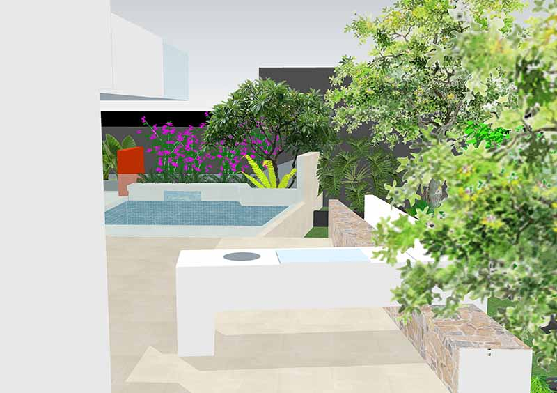 landscape design drawing