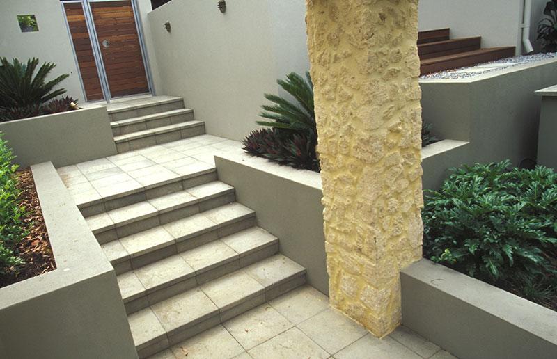 stairs in garden