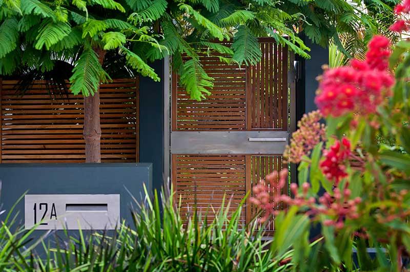 Garden gate design in Karrinyup